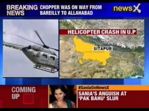 7 dead in IAF chopper crash in Sitapur in U.P