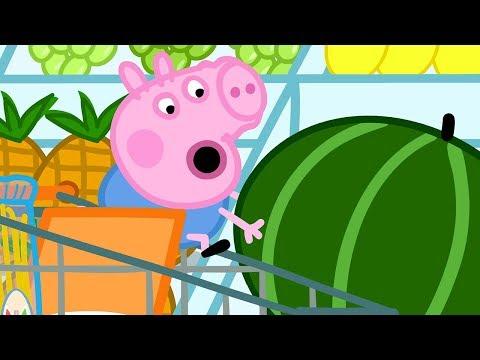 Video Peppa Pig Français | La pastèque géante | Dessin Animé Pour Enfant download in MP3, 3GP, MP4, WEBM, AVI, FLV January 2017