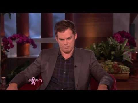 michael c. hall on the ellen degeneres show  (october 8, 2010) (HD)