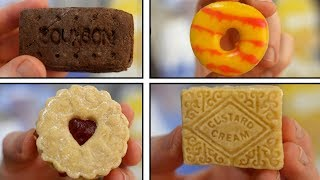 DIY Custard Cream, Jammie Dodger, Party Rings & Chocolate bourbon biscuits by  My Virgin Kitchen