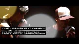 [PROMO] Freestyle cu Chimie si Ana Maria Alexie in Chisinau, Galati, Barlad, Braila