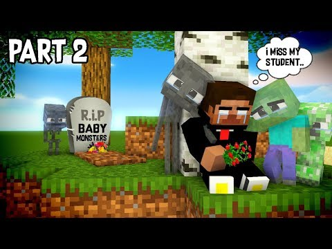 Monster School : RIP ALL  BABY Monsters Part 2 (Sad story) - Minecraft Animation - Thời lượng: 10:08.