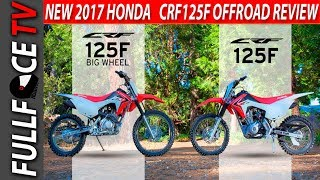 5. AMAZING 2017 Honda CRF125F Top Speed and Review