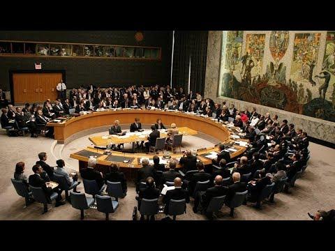 Экстренное заседание Совбеза ООН после ударов по Сирии - DomaVideo.Ru