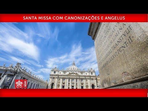 Papa Francisco - Santa Missa com Canonizações e Angelus