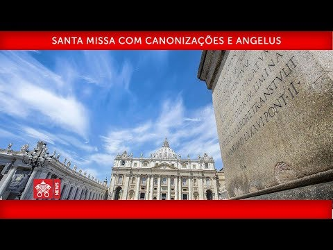 Papa Francisco-Santa Missa com Canonizações e Angelus- 2019-10-13