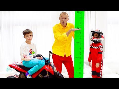 Katy y Max quieren ser más altas y saltar en un trampolín
