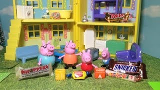 PEPPA PIG Candy Surprise Toy Video Parody