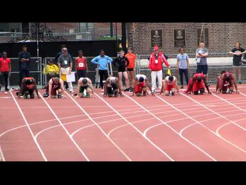 John Spooney 2012 100m Finals video.