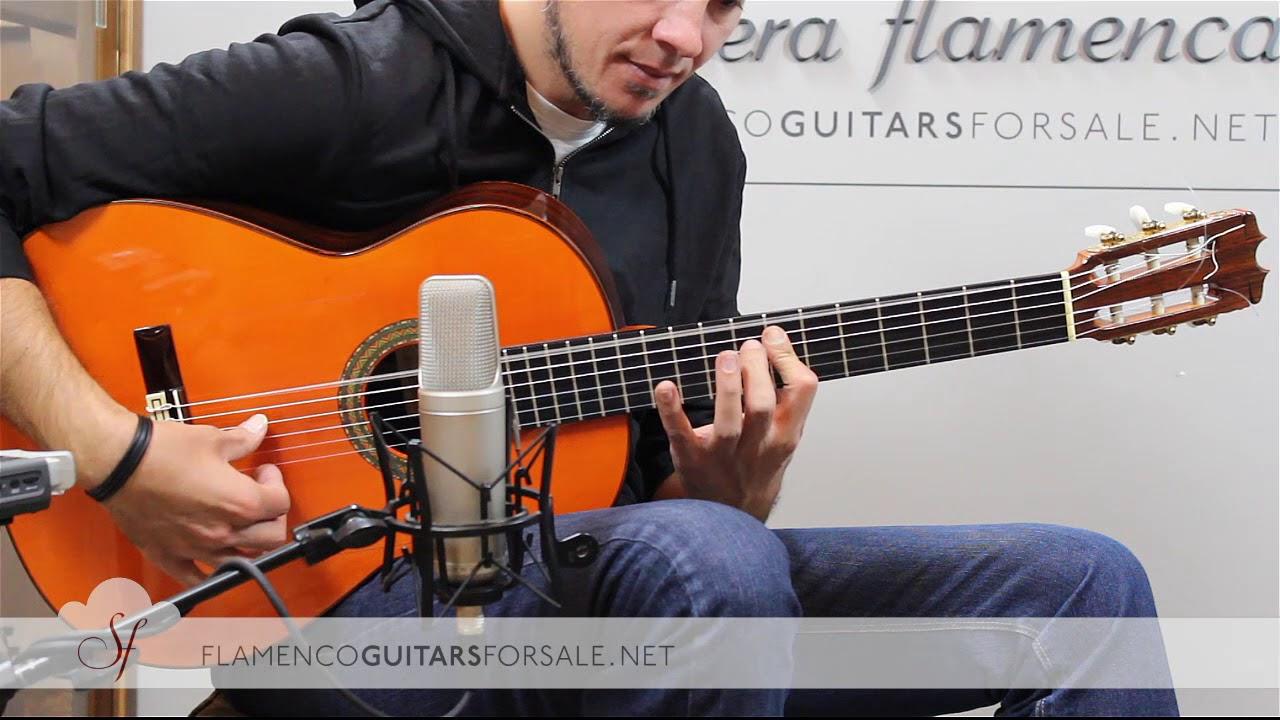 VIDEO TEST: Hermanos Conde AF25 1997 flamenco guitar for sale