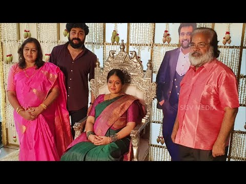 Meghana Raj Baby Shower Photos Video   Chiranjeevi Sarja Wife Meghana Raj Seemantha