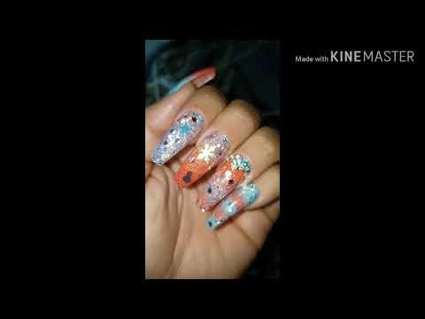 Videos de uñas - Un video de las últimas uñas de estas últimas semanas.