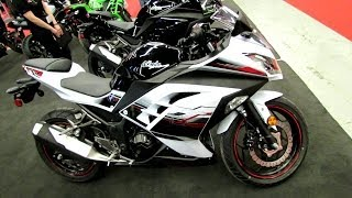 7. 2014 Kawasaki Ninja 300 ABS SE Walkaround - 2014 Montreal Motorcycle Show