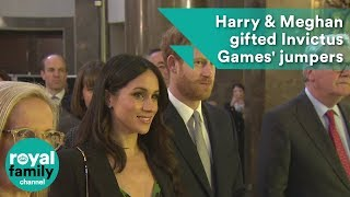 Wedding gifts? Prince Harry & Meghan Markle given Invictus Games' jumpers