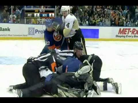 Godard Leaves Bench; Fights Isles Haley