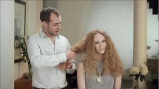 Janine at Vision Model Management commercial for JOHN FRIEDA