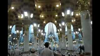 Medina Saudi Arabia  City new picture : Entering Prophet Muhammed's Mosque. Medina. Saudi Arabia.