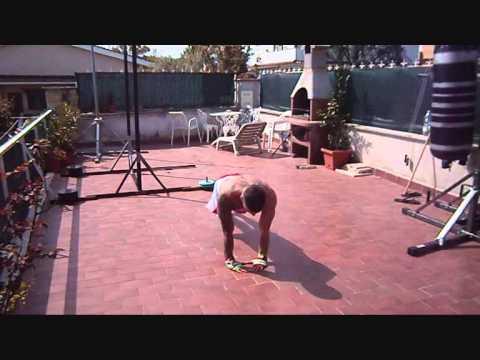 allenamento thai boxe ( pittbull-bar-extreme )