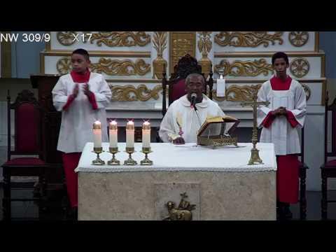 Basílica Santuário de Nossa Senhora das Dores - Missa do dia 01/01/2017 19h