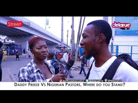 Daddy Freeze VS Tithing, Where Do You Stand? - DelarueTV | Street'ish