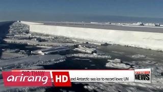 Arktis er ramt af varmebølge - for tredje gang denne vinter