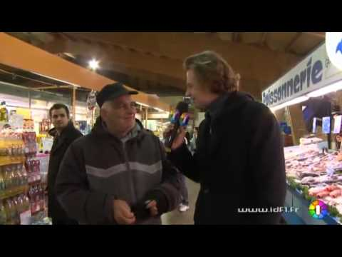 Promenade au marché d'Argenteuil