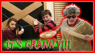 Video REAL LIFE GRANNY GAME IN GRANNY'S CABIN | We Are The Davises MP3, 3GP, MP4, WEBM, AVI, FLV Maret 2019