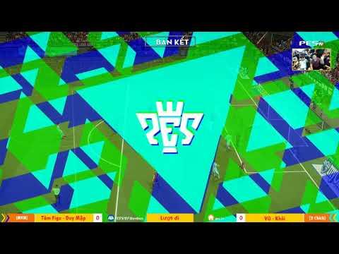 PES League 2v2 | Bán Kết | [MYM] Tâm Figo + Duy Mập vs KTTG + Yes 24-12-2017