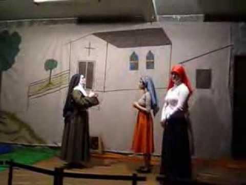 Encenação - Nossa Senhora de Lourdes - 11/02/2012