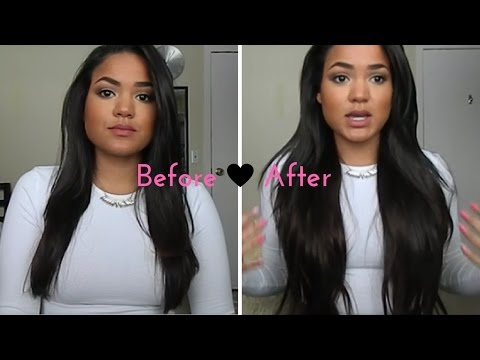 HONEST Bellami Hair Extension Review  311346ff2b
