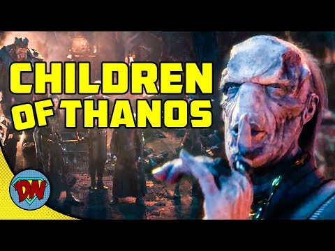 Thanos Black Order - Infinity War | Explained In Hindi