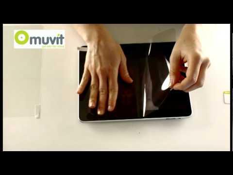 Comment poser votre protecteur d'écran muvit pour iPad