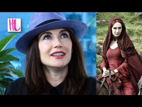 Carice van Houten - Game of Thrones actress Carice Van Houten who plays Melisandre talks to us about Season 3 and her infamous Smoke Baby birth scene. Subscribe! http://bit.ly...