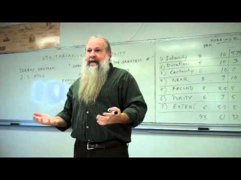 Utilitarian Ethics Part 4