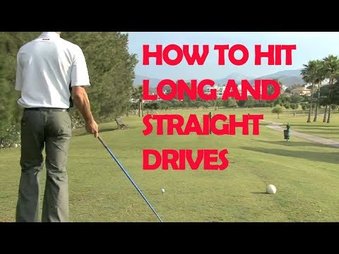 Golf: How To Hit Long And Straight Drives