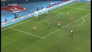 David Alaba macht das 5:0 gegen die Färöer