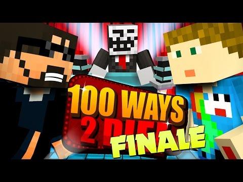 Minecraft: 100 WAYS TO DIE CHALLENGE - THE EPIC FINALE!! (видео)