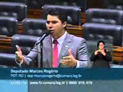 Marcos Rogério faz menção ao 3º Rondonia Rural Show no plenário da Câmara