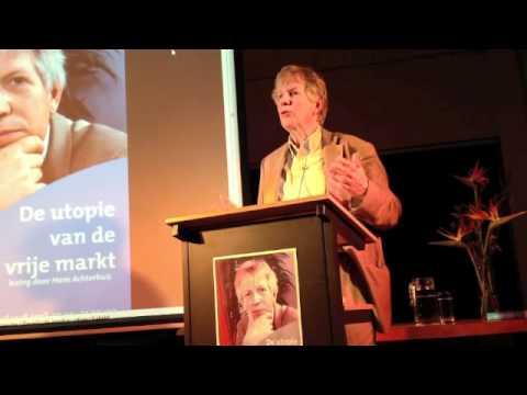 Hans Achterhuis De utopie van de vrije markt in Bibliotheek Veldhoven