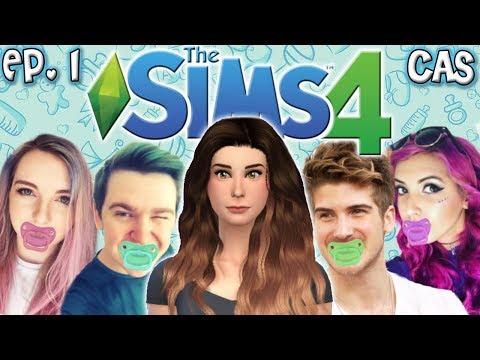 The Sims 4: Raising YouTubers Miniseries - Ep 1 (Create A Sim & House Build)