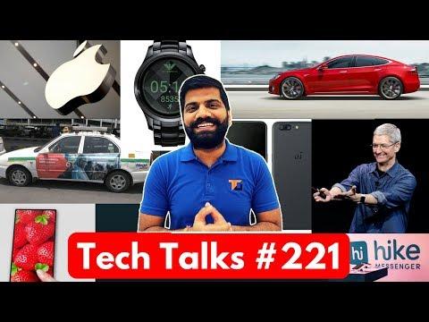 Tech Talks #221 - Oneplus 5 Contest, TESLA Crash, Hike 5.0 UPI, Armani Watch, Whatsapp Update