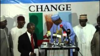 Muhammadu Buhari Presents His Running Mate, Prof. Yemi Osinbajo