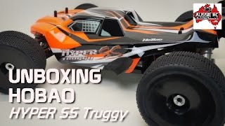Unboxing: HoBao Hyper SST 1:8 scale Truggy