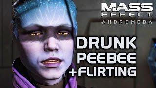 Video Mass Effect Andromeda - Peebee Drunk in the Museum + Flirting MP3, 3GP, MP4, WEBM, AVI, FLV Juni 2018