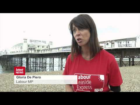 Labour brings its Seaside Express to Brighton and Hove in bid to woo voters