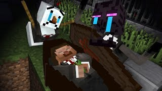 Monster School: Herobrine's Funeral - Halloween Minecraft Animation