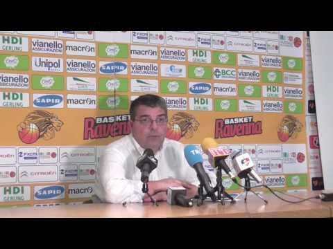 A2 Playoff – Semifinale Gara3, Ramagli post match Ravenna