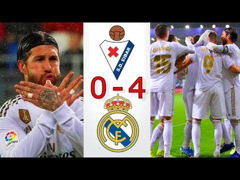 Eibar vs Real Madrid 0-4 - Todos los Goles