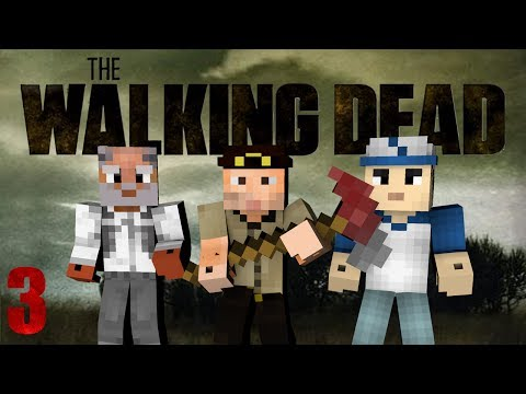 Minecraft - The Walking Dead! Episode 3 (Crafting Dead Mod)