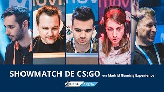 ESL Arena Showmatch YouTubers vs. Fans - PokeR988, ByAbeel, sTaXx, Sarinha y Black